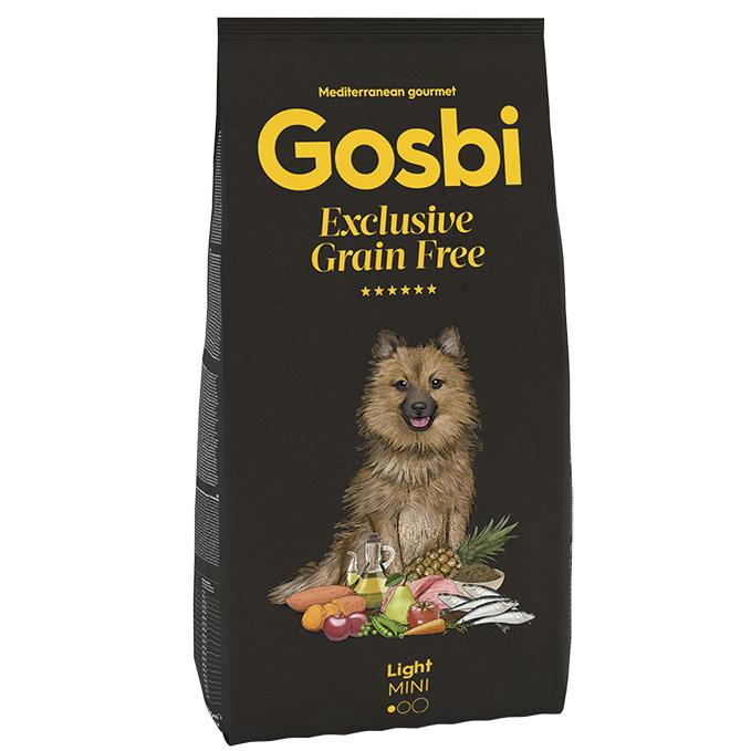 GOSBI GRAIN FREE LIGHT MINI 2 KG.