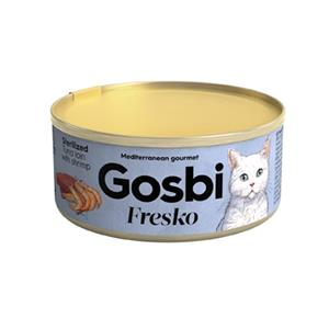 GOSBI FRESKO CAT STERILIZED FILET Z TUŃCZYKA/KREWE