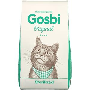 GOSBI ORIGINAL CAT STERILISED 7 KG.