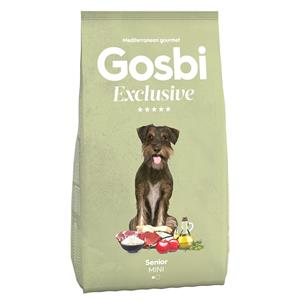 GOSBI EXCLUSIVE SENIOR  MINI 7 KG.