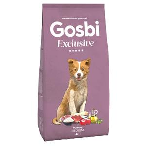 GOSBI EXCLUSIVE PUPPY MEDIUM 3 KG.