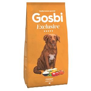 GOSBI EXCLUSIVE KURCZAK MEDIUM  12 KG.