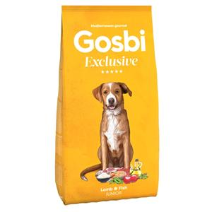GOSBI EXCLUSIVE JUNIOR JAGNIĘCINA&RYBA  12 KG.