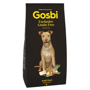 GOSBI GRAIN FREE ADULT KACZKA MEDIUM 12 KG.